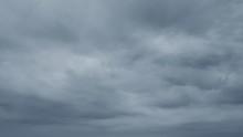 Cloudy Sky In Rainy Season