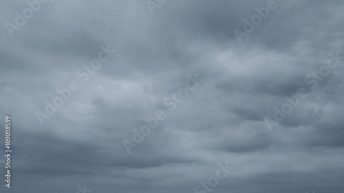 Obraz Cloudy sky in rainy season - fototapety do salonu