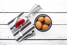 Vintage Egg Beater