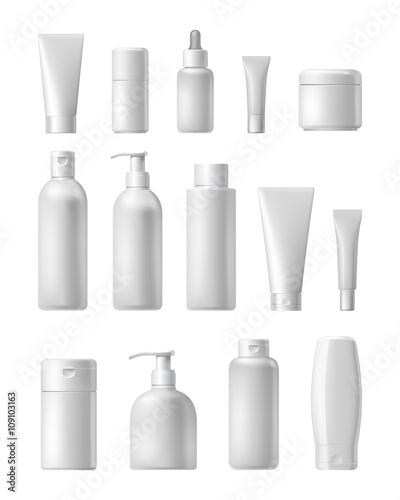 Fotografia  Cosmetic brand template
