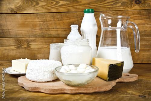 Staande foto Zuivelproducten Dairy