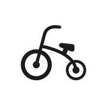 Tricycle Icon. Design. Bike, B...