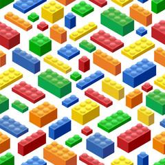 fototapeta klocki lego wzorki