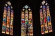 Colmar - Wunderschöne Glasfenster im gotischen Chor