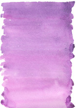 Abstract Watercolor Background Violet