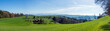 Panorama mit Gebirgskette, Bern, Schweiz
