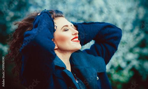 Fototapeta Szczęśliwa kobieta obraz