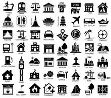 Map Symbol Icon Set