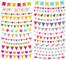 Colorful Birthday And Party De...