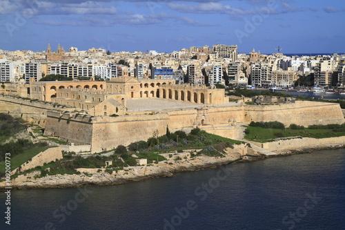 Door stickers Fortification Fort Manoel in Valletta, Malta