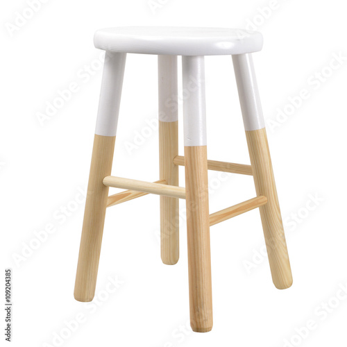 Tabouret Scandinave Blanc Buy This Stock Photo And Explore Similar