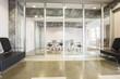 Interiro of a modern meeting room