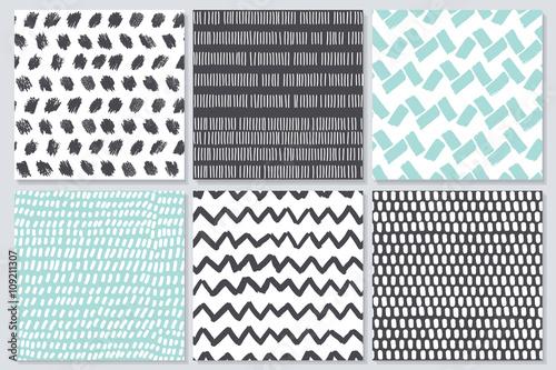 Stoffe zum Nähen Abstrakte nahtlose Muster mit Textur