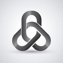 Link Symbol Design. Flat Illus...