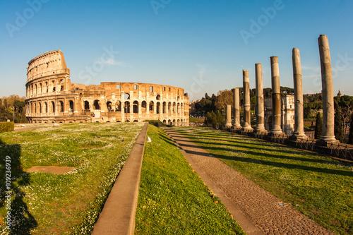 Photo  Ruines of Colloseum