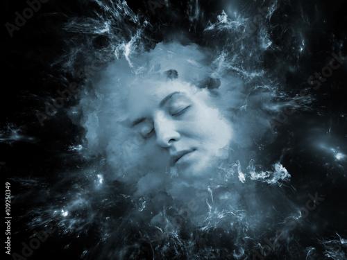 Fototapety, obrazy: Unfolding of Self