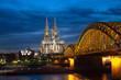 Kölner Dom bei Nacht in HDR 2