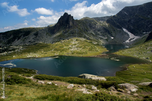 Aluminium Prints The Twin, The Seven Rila Lakes, Rila Mountain, Bulgaria