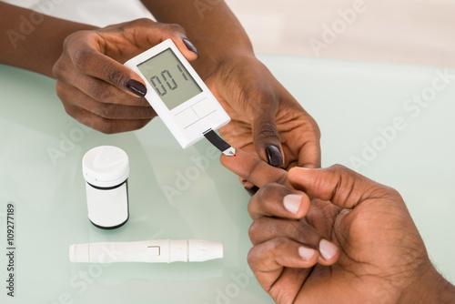 Fotografía  Test For Diabetes
