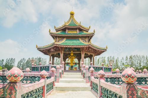 Tuinposter Bangkok Pavillion of the Enlightened, Ancient City, Samutprakarn,Thailand.