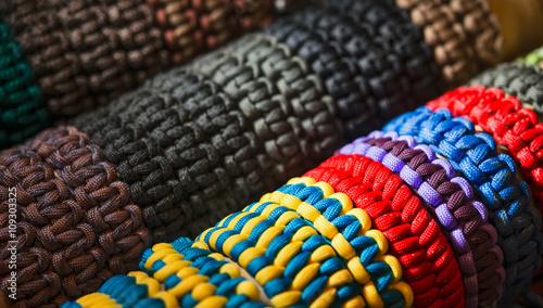 Fotografía  bracelets rope parachute cord
