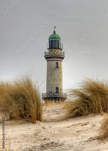 Lighthouse in Warnemünde (Mecklenburg-Vorpommern, Germany)