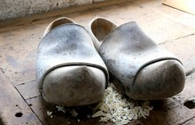 Dutch Style Wooden Clogs In Th...