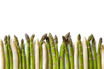 Panel Szklany Warzywa Delicious fresh asparagus