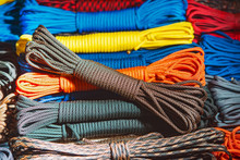 Colored Parachute Cord Coiled ...