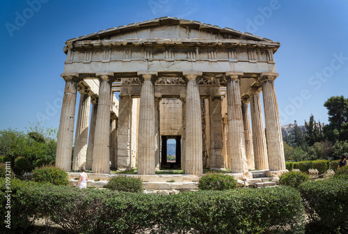 Photo  Temple of Hephaestus in Ancient Agora, Athens, Greece