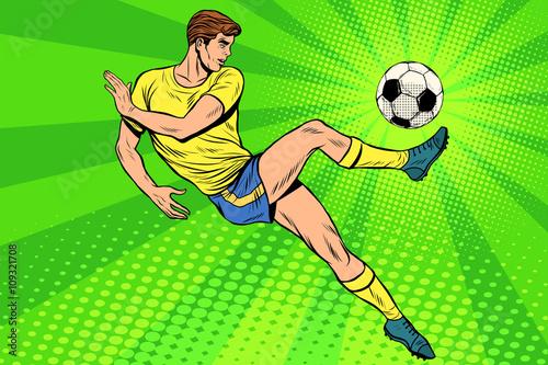 Football has a soccer ball summer sports games - 109321708