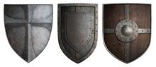 Various Crusaders Knights Shie...