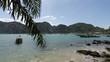 tropical bay on ko phi phi island