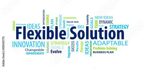Fotografie, Obraz  Flexible Solution