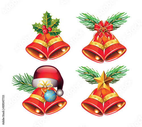 Christmas Bells Are Ringing.Christmas Bells Are Ringing Vector Buy This Stock Vector