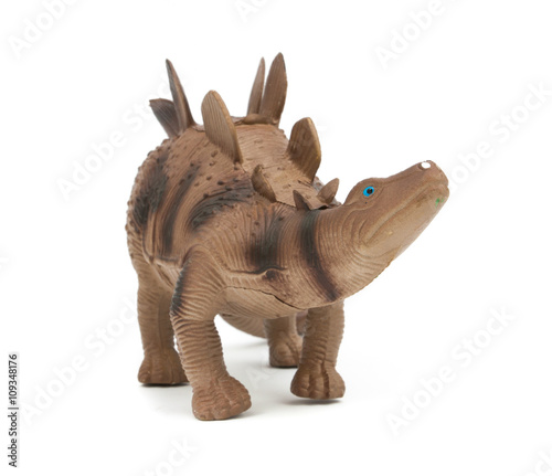 Stegosaurus dinosaur isolated
