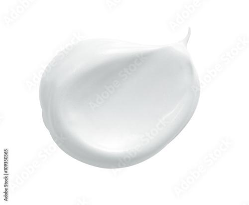 Obraz na plátně  white cosmetic face cream