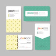 Geometry business card template. Cover, Flyer, Leaflet template.