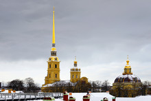 Peter And Paul Cathedral Is Ru...