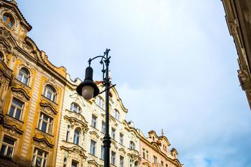 Fototapeta na wymiar Old Town ancient architecture in Prague, Czech Republic