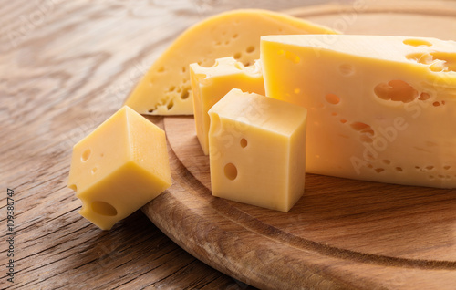 fresh piece of cheese