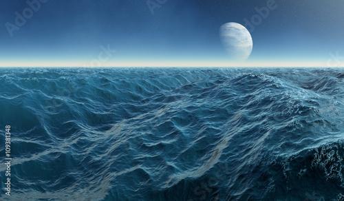 Photo  Water moon