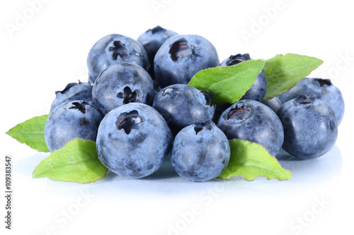 Fotografija Blaubeere Blaubeeren frische Beeren Beere Frucht Freisteller fre