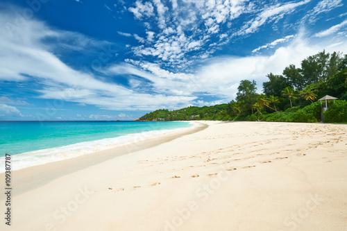 Beautiful Anse Intendance beach at Seychelles Wallpaper Mural