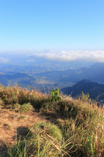 """sea Of Mist""seen From Phu Chi..."