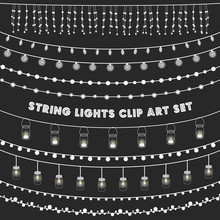 Chalkboard String Lights Set