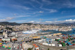 "Panoramic view of Genoa from the ""Lanterna"" lighthouse"