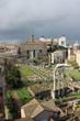 Rome,Italy,Roman Forum,spring.