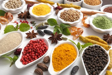 Fototapeta Spices and herbs.