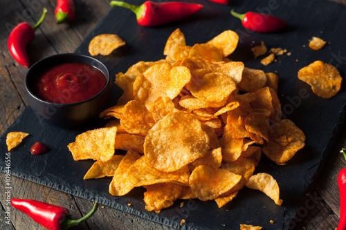 Fotografía  Hot Spicy Sriracha Potato Chips